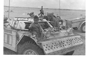 Egypt, Boy on Tank 1